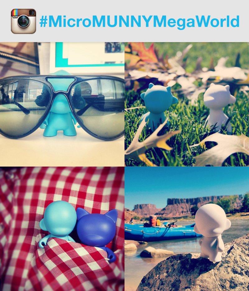 #MicroMUNNYMegaWorld