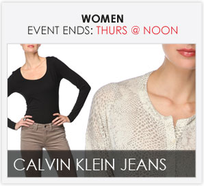 CALVIN KLEIN JEANS - Ladies