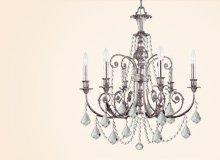 Crystorama Lights Made with Swarovski SPECTRA®