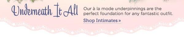 Shop Intimates