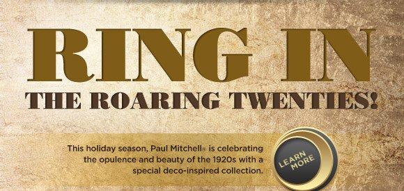 Ring in the roaring twenties!