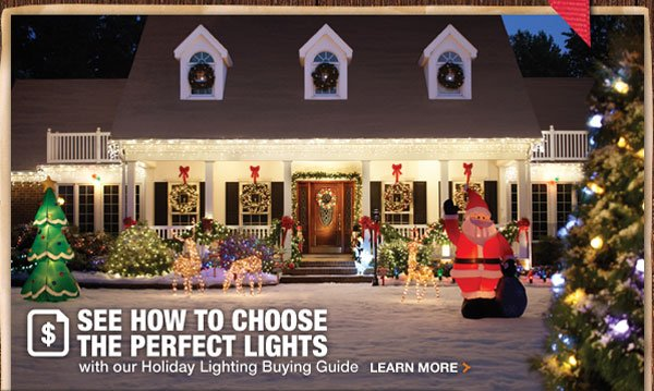 Choose the perfect lights