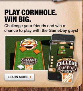 Play Cornhole. Win Big.
