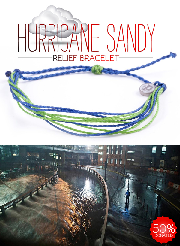 """ATTENTION!! """"Hurricane Sandy Relief"""" Bracelet Now Available!"""
