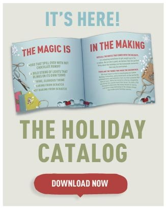 It's Here! The Holiday Catalog