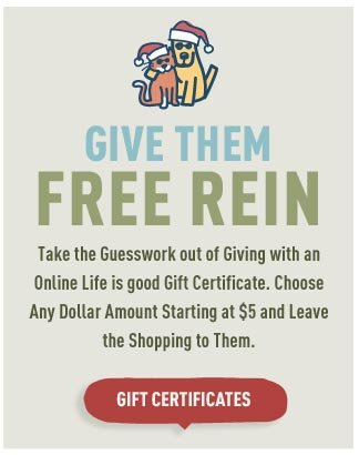 Give Them Free Rein - Shop Life is good Gift Certificates