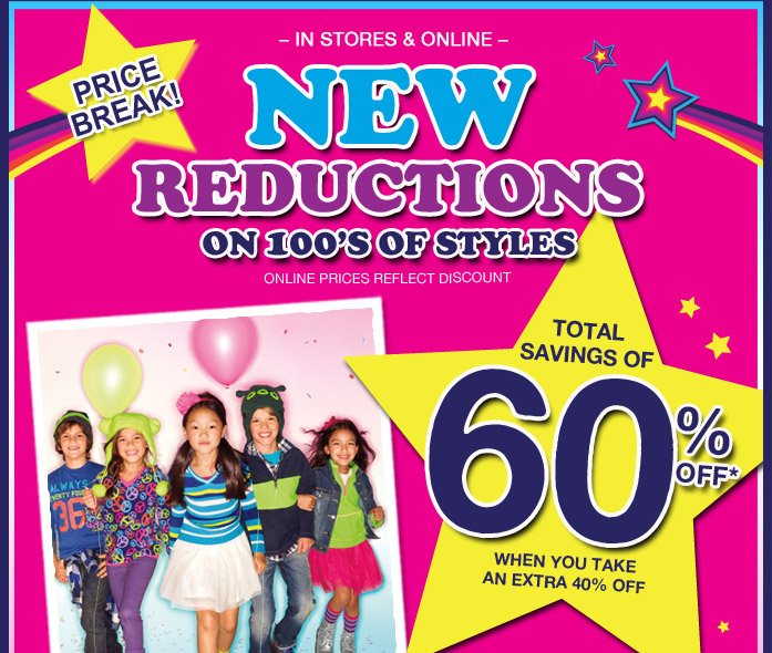 New Reductions!