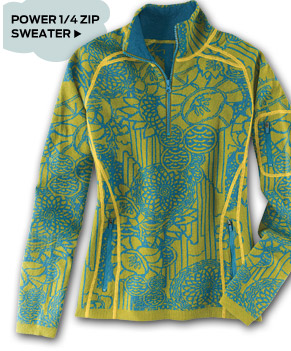Power 1/4 Zip Sweater >