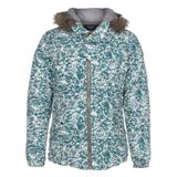 Paul Smith Jackets - Turquoise Tie-Dye Print Down Filled Parka