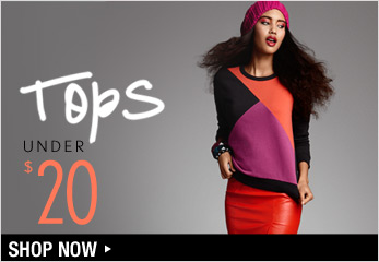 Tops Under $20 - Shop Now