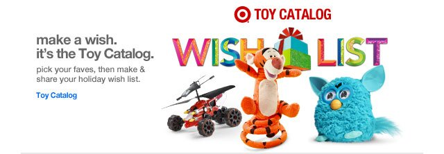 Make a wish. It's the Toy Catalog.