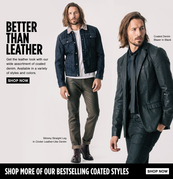 Better Than Leather: Get the Coated Look
