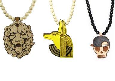 Shop Wood & Steel Necklaces