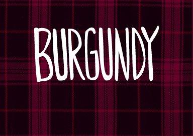 Shop Burgundy Basics
