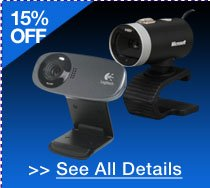 72 HOURS ONLY! 15% OFF ALL WEBCAMS!* See All Details