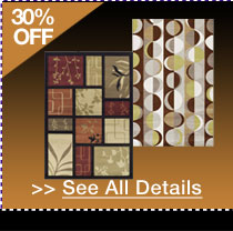 48 HOURS ONLY! 30% OFF ALL AREA RUGS!* See All Details