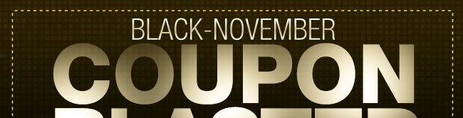 BLACK-NOVEMBER COUPON BLASTER