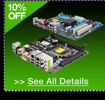 10% OFF SELECT GIGABYTE MOTHERBOARDS + FREE MCAFEE ANTIVIRUS PLUS 2013 (KEY) OEM!* See All Details