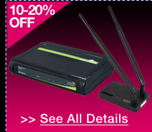 72 HOURS ONLY! 10-20% OFF SELECT NETWORKING PRODUCTS!* See All Details