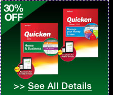 30% OFF SELECT INTUIT QUICKEN 2013 SOFTWARE!* See All Details