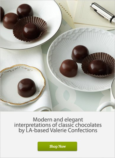 Classic Chocolates by LA-based Valerie Confections - Shop Now