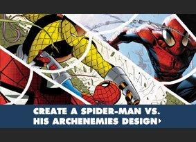 Create a Spider-Man vs. His Archenemies Design