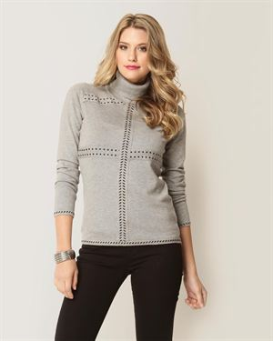 Yuka Polka Dot Turtleneck $49