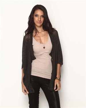 M.O.L. Knits Shirred Knit Cardigan $69