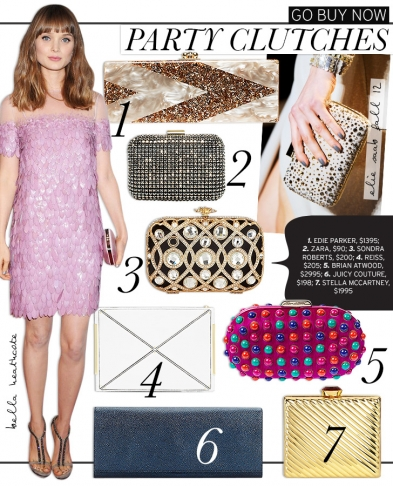 Go Buy Now: Party Clutches