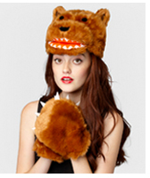 Kuma Bear Hat