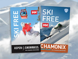 Get your free ski day pass - Helly Hansen