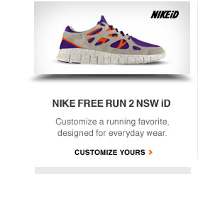 NIKE FREE RUN 2 NSW iD | Customize a running favorite, designed for everyday wear. | CUSTOMIZE YOURS