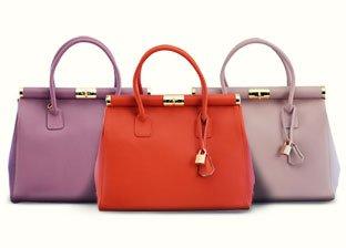 H&S Handbags Made In Italy