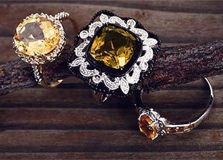 November Birthstones: Topaz & Citrine Jewelry