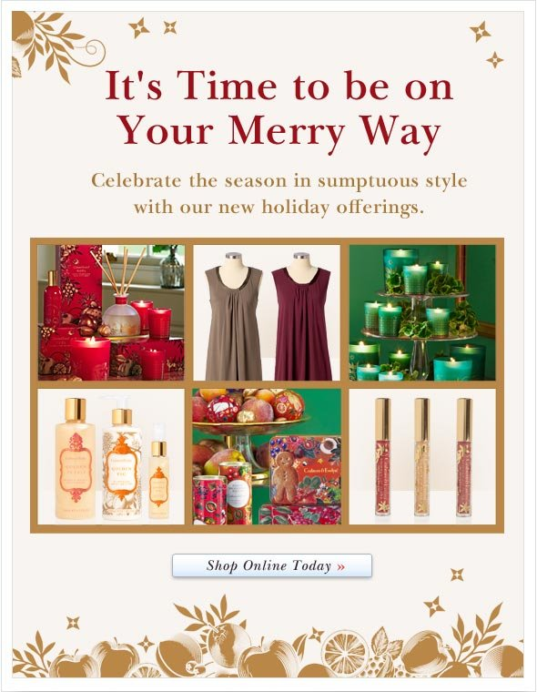 Celebrate the season in sumptuous style with our new holiday offerings. Shop Hand Care Online.
