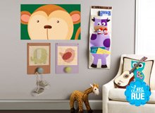 Monkeying Around Kids' Bedroom Décor