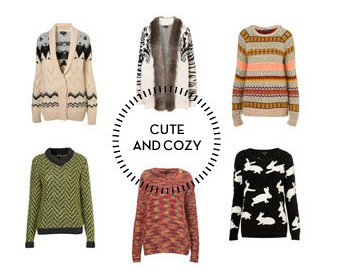Cute and Cozy - Shop Knitwear