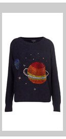 Knitted Crystal Planet Jumper