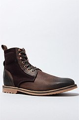The Thomas Boot in Dark Brown & Clove