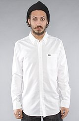 The That'll Do Buttondown Shirt in White