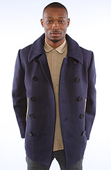 The Marc Newson Peacoat in Navy