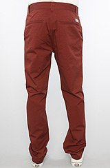 The Kelvin Chino Pants in Androrra Red