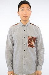 The Bowen Buttondown Shirt in Grey
