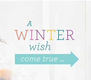 A Winter Wish Come True...