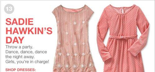 SADIE HAWKIN'S DAY | SHOP DRESSES