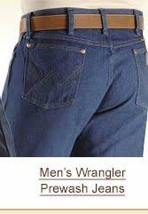 Men's Wrangler Prewash Jeans