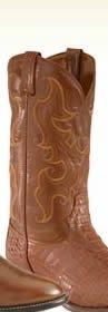 Men's Caiman Skin Boots