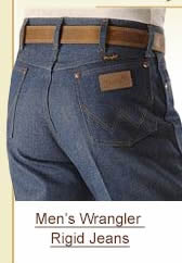 Men's Wrangler Rigid Jeans