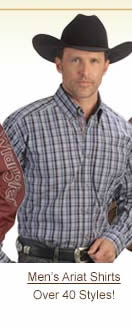 Men's Ariat Shirts