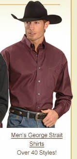Men's George Strait Shirts